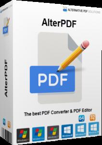 AlterPDF Pro 5.6 Crack With License Key [Lifetime] 2021 Latest