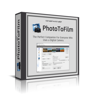 KC Softwares PhotoToFilm 3.9.6.105 Crack With License Key 2021 [Latest]