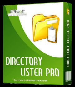 Directory Lister Pro 2.43 Crack With Serial Key 2021 [Latest]
